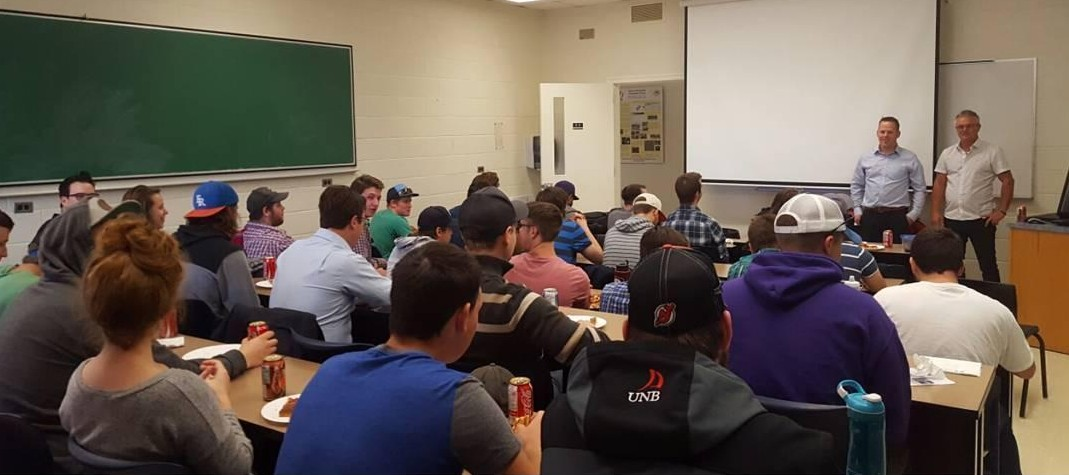 SOS Visits the University of New Brunswick Geodesy and Geomatics Engineering Department