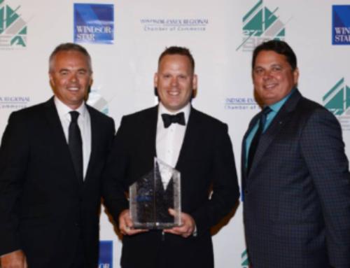 SOS Receives 2017 Small Company of the Year Award